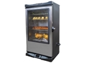 "Masterbuilt Sportsman Elite Stainless Steel 40"" Electric Smoker with RF Remote and Window"