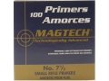Magtech Small Rifle Primers #7-1/2 Box of 1000 (10 Trays of 100)