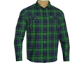 Under Armour Men's Borderland Flannel Shirt Long Sleeve Polyester