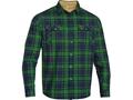 Under Armour Men's Borderland Flannel Shirt Long Sleeve Polyester