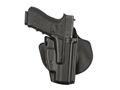 "Safariland 5378 GLS (Grip Lock System) Paddle and Belt Loop Holster Right Hand Smith and Wesson M&P Compact 9mm, 40 S&W 3-1/2"" Barrel Polymer Black"