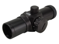 ADCO E-Dot Red Dot Sight 30mm Tube 1x 3 MOA Dot with Weaver-Style Rings Matte