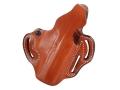 DeSantis Thumb Break Scabbard Belt Holster Right Hand Beretta Heckler & Koch USP Fullsize 9mm, 40cal Leather Tan