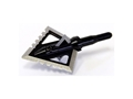 Magnus Black Hornet Ser-Razor 4-Blade Fixed Blade Broadhead Stainless Steel Pack of 3