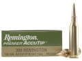 Product detail of Remington Premier Ammunition 260 Remington 120 Grain AccuTip Boat Tail Box of 20