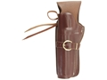 "Triple K 114 Cheyenne Western Holster Left Hand S&W N-Frame 6.5"" Barrel Leather Brown"