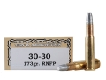 Ten-X Cowboy Ammunition 30-30 Winchester 170 Grain Lead Round Nose Flat Point Box of 20