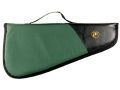 "Thompson Center Encore and Contender Scoped Pistol Gun Case 25-1/4"" Nylon Green with Black Trim"
