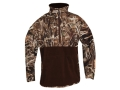 Drake Men's MST Eqwader Plus 1/4 Zip Wader Jacket Waterproof Polyester Realtree Max-4 Camo 2XL