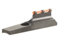 "Marble's Uni-Ramp Front Sight .470"" Height for .875"" Barrel Steel Blue Fiber Optic Orange"