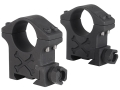 "Talley 1"" Tactical Picatinny-Style Rings Matte High"