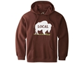 "Mountain Khakis Men's ""Local"" Hooded Sweatshirt Organic Cotton and Polyester Earth"
