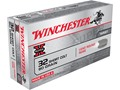 Winchester Super-X Ammunition 32 Short Colt 80 Grain Lead Round Nose Box of 50