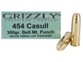 Grizzly Ammunition 454 Casull 320 Grain PUNCH Box of 20