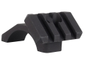 Badger Ordnance 30mm Maximized 4-Hole Picatinny-Style Ring Top with Angled Picatinny-Style Accessory Rail Matte