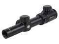 Bresser True View Konig Rifle Scope 1-4x 24mm Illuminated Mil-Dot Reticle Matte
