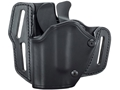 BLACKHAWK! GripBreak Belt Holster S&W M&P 9mm, 40 S&W, 45 ACP Leather Black