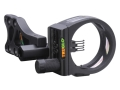 "TRUGLO TSX Pro 5 Light 5-Pin Bow Sight .019"" Pin Diameter Aluminum Black"
