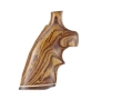 Hogue Fancy Hardwood Grips with Accent Stripe and Top Finger Groove Ruger Security Six Cocobolo