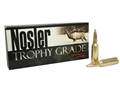 Nosler Trophy Grade Ammunition 300 Remington Short Action Ultra Magnum 180 Grain Partition Spitzer Box of 20
