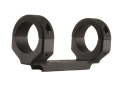 DNZ Products Game Reaper 1-Piece Scope Base with 1&quot; Integral Rings Thompson Center Encore, Omega, Triumph Matte Low
