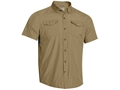 Under Armour Men's ISO-Chill Flats Guide Short Sleeve Shirt Nylon