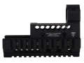 Midwest Industries US Palm 2-Piece Railed Handguard AK-47, AK-74 with Aimpoint ML2 Top Cover Optic Mount Aluminum