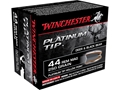 Product detail of Winchester Supreme Ammunition 44 Remington Magnum 250 Grain Platinum Tip Hollow Point