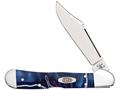 "Case Mini Copperlock Folding Knife 2.7"" Clip Point Stainless Steel Blade"