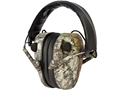 Caldwell E-Max Low Profile Electronic Earmuffs (NRR 23dB) Mossy Oak Break-Up Camo