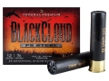 "Federal Premium Black Cloud Ammunition 12 Gauge 3-1/2"" 1-1/2 oz BB Non-Toxic FlightStopper Steel Shot Case of 250 (10 Boxes of 25)"