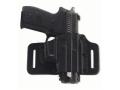 Galco Tac Slide Belt Holster Right Hand Smith & Wesson J-Frame Leather and Kydex black