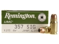 Product detail of Remington UMC Ammunition 357 Sig 125 Grain Jacketed Hollow Point Box of 50