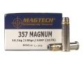 Magtech Sport Ammunition 357 Magnum 158 Grain Semi-Jacketed Hollow Point