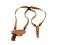 Galco Classic Lite Shoulder Holster System Glock 42, Kahr CW9, CW40, P9, P40, MK9, MK40, Kel Tec PF9 Leather