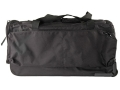Uncle Mike's Wheeled Duffel Bag Nylon Black