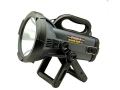 Cyclops Thor X Spotlight 10 Million Candle Power Halogen Bulb Rechargeable Polymer Gray