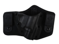 Product detail of DeSantis Intruder Inside the Waistband Holster Right Hand Smith & Wesson J-Frame Kydex and Leather Black