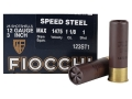 "Fiocchi Speed Steel Ammunition 12 Gauge 3"" 1-1/8 oz #1 Non-Toxic Steel Shot Case of 250 (10 Boxes of 25)"