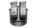 Product detail of Fobus Roto Paddle Double Magazine Pouch Glock 20, 21, 29, 30 Polymer Black