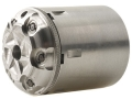 Howell's Old West Semi Drop In Conversions Drop-In Conversion Cylinder 36 Caliber Pietta 1858 New Model Navy Steel Frame Black Powder Revolver 38 Special 6-Round Stainless Steel