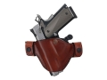 Bianchi 84 Snaplok Holster Left Hand Glock 17 Leather Tan