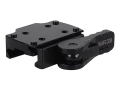 American Defense AD-TR Mini Quick-Release Trijicon Red Dot Sight Mount Picatinny-Style AR-15 Flat-Top Matte