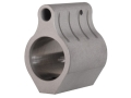 "Vltor Low Profile Gas Block Set Screw Mount AR-15, LR-308 Lightweight Barrel .625"" Inside Diameter Stainless Steel"