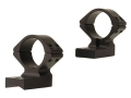 Talley Lightweight 2-Piece Scope Mounts with Integral 1&quot; Extended Front Savage 10 Through 16, 110 Through 116 Flat Rear Matte Medium