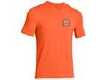 Under Armour Men's UA Fish Hook Back Crest T-Shirt Short Sleeve Cotton and Polyester Blend