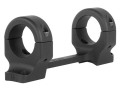 DNZ Products Game Reaper 1-Piece Scope Base with 1&quot; Integral Rings Browning X-Bolt Short Action Matte Medium
