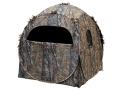 Ameristep Doghouse Ground Blind 60&quot; x 60&quot; x 68&quot; Polyester Realtree APG Camo