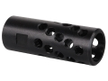 AR-Stoner Heli-Port Muzzle Brake 5/8&quot;-24 Thread AR-10, LR-308 Parkerized