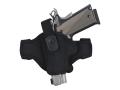 Bianchi 7506 AccuMold Belt Slide Holster Sig Sauer P230, P232, Walther PP, PPK, PPK/S Nylon Black